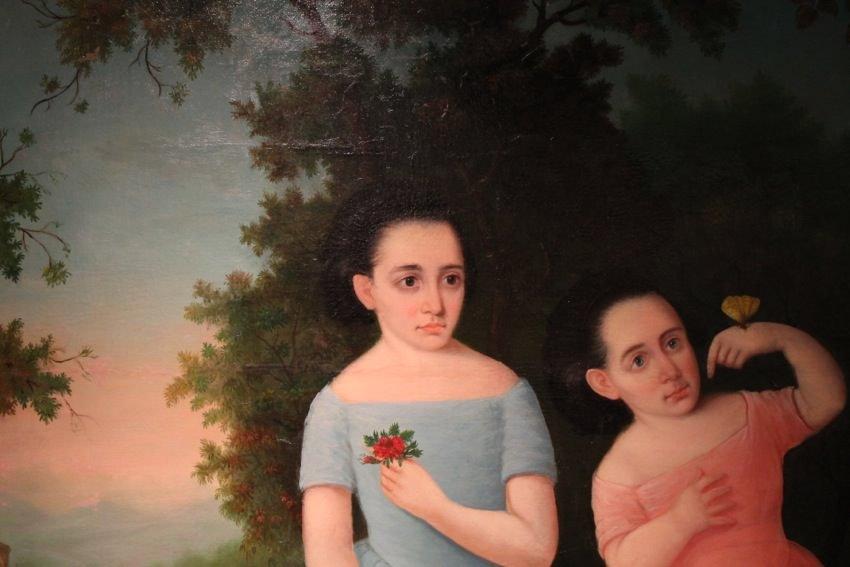 American Provincial Portrait