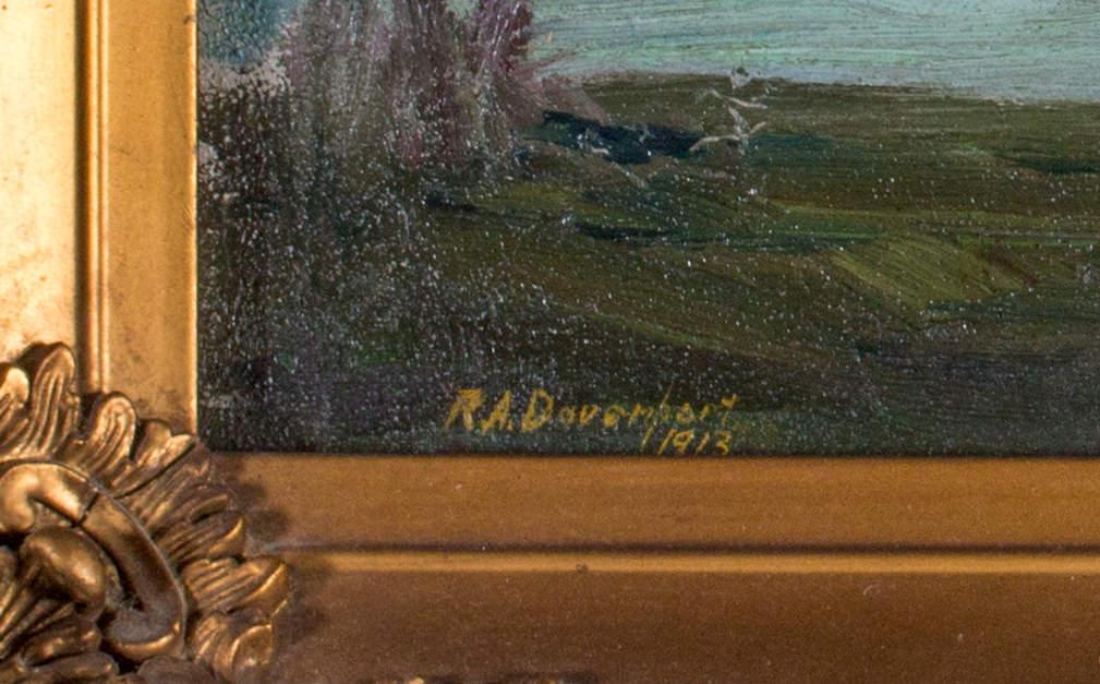 R. A. Davenport, Scene on Belle Isle, Detroit, Mich.