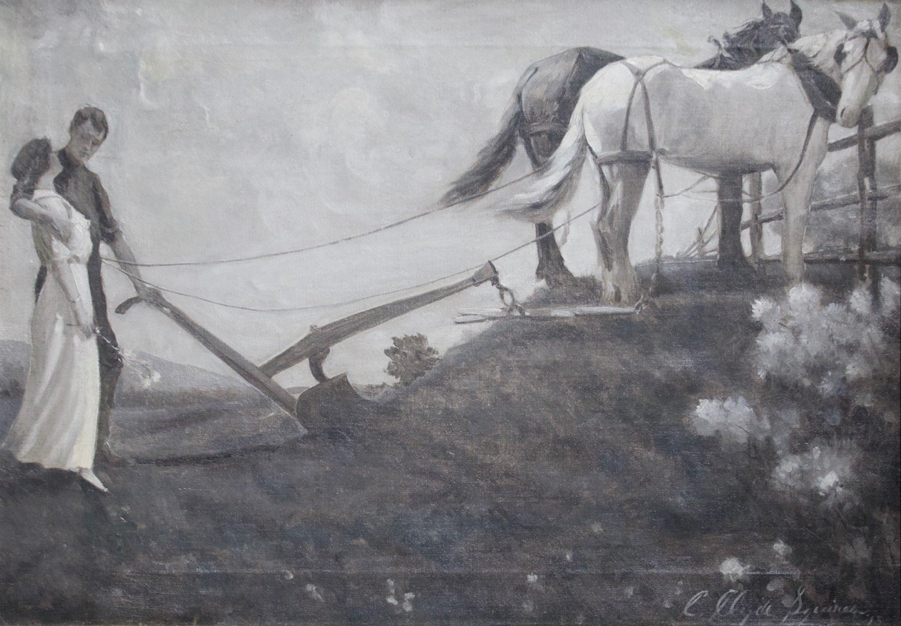Returning from the Field by Charles (C. Clyde) Squires