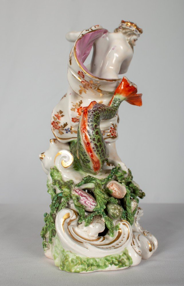 Chelsea Porcelain, Figure of Neptune
