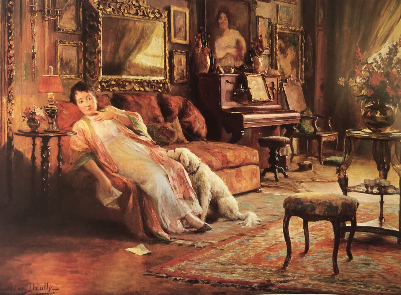 The Letter by Eugène Deully