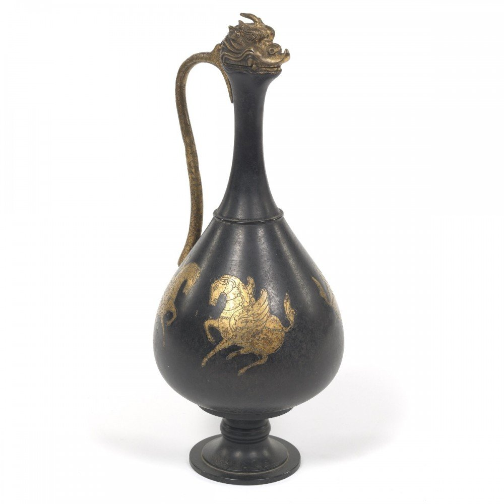 Patinated Bronze Decorative Art: