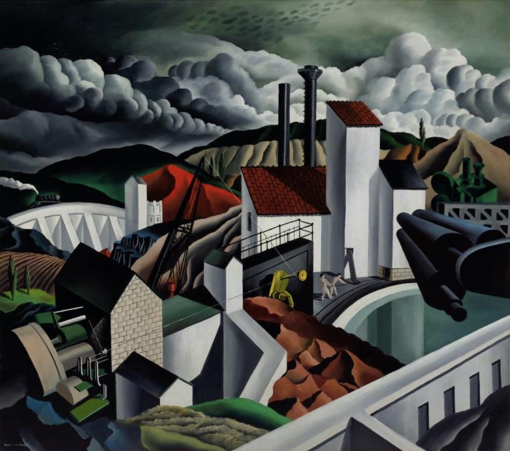 The White Dam by Raphael Gleitsmann