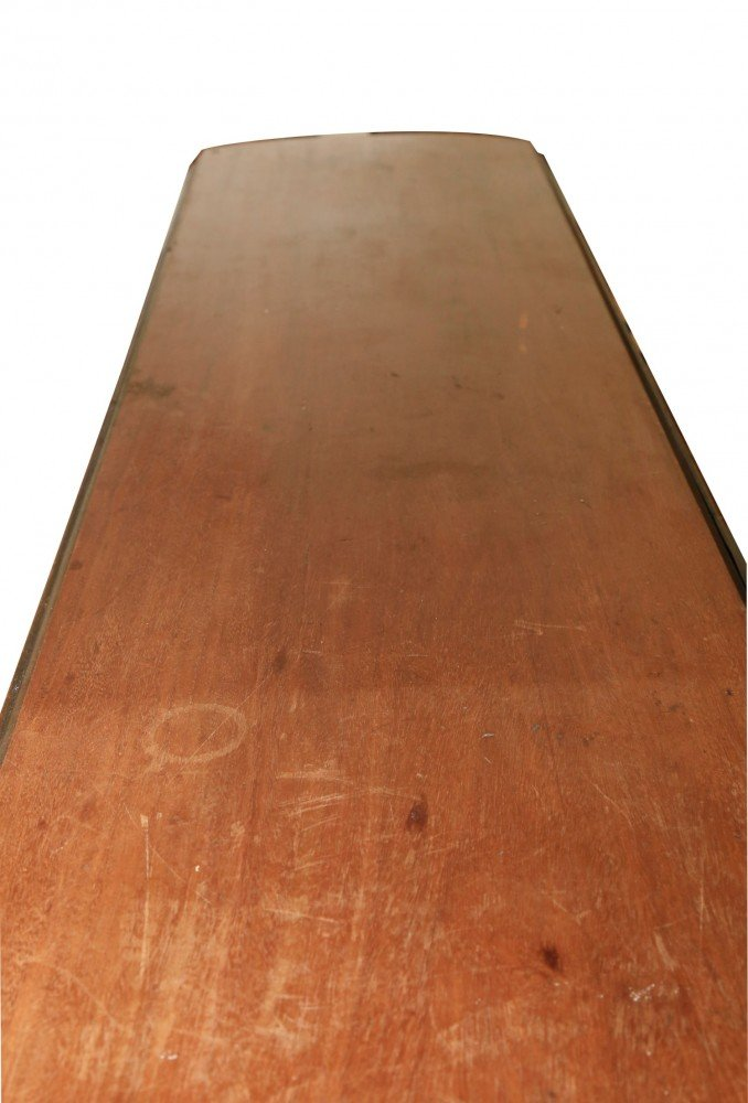 18thc. Mahogany Wake or Hunt Table