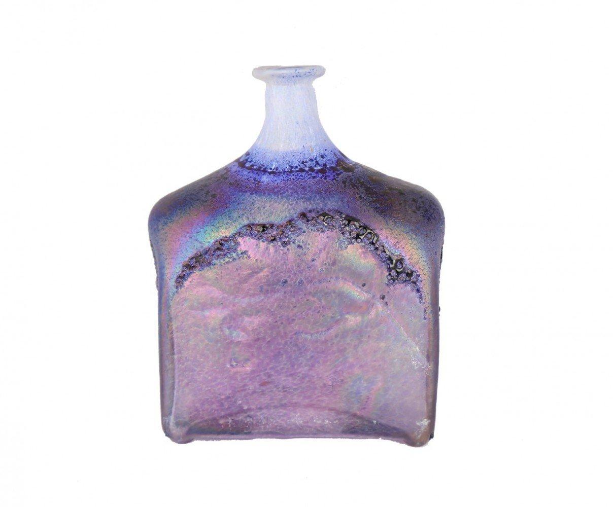 Two art glass Vases