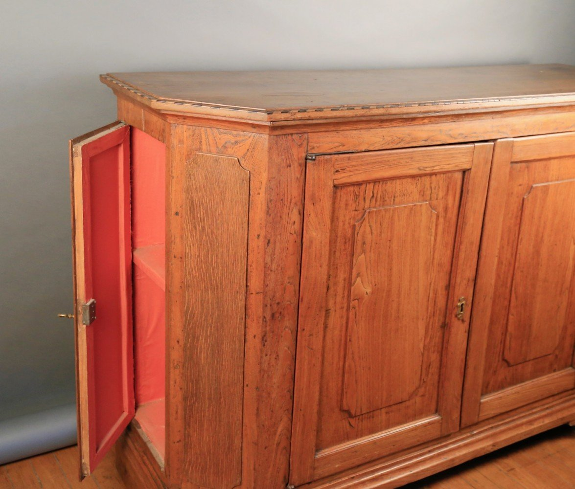 French Oak Side Cabinet, late 18thc.