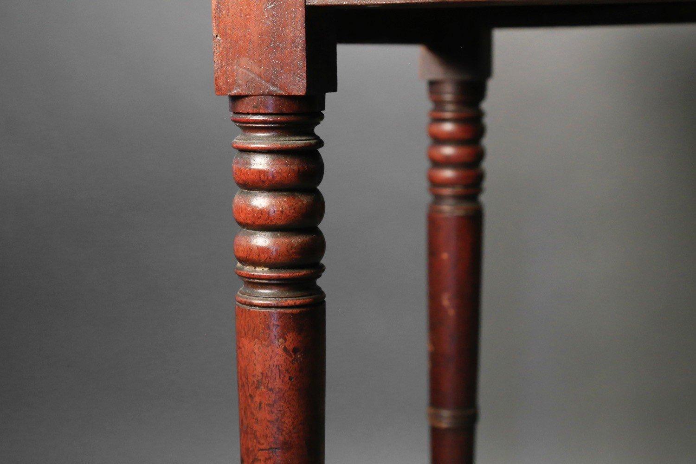 English Sheraton Mahogany Pembroke Table, 19thc.