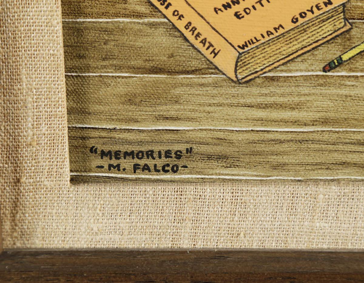 M.Falco(American, 20thc.) Memories