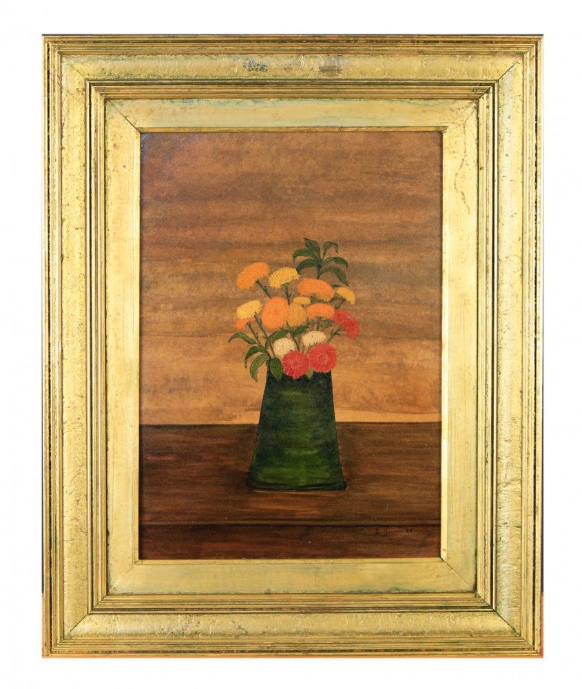 Still life, Flowers in a Vase by Doris Roberts Goyen