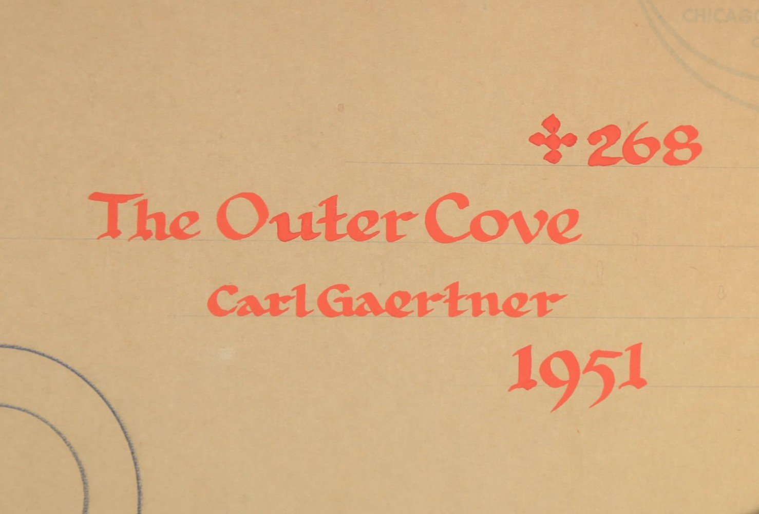 The Outer Cove by Carl Frederick Gaertner