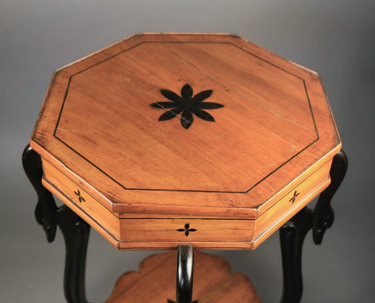 A Biedermeier Occasional Table, c.1810