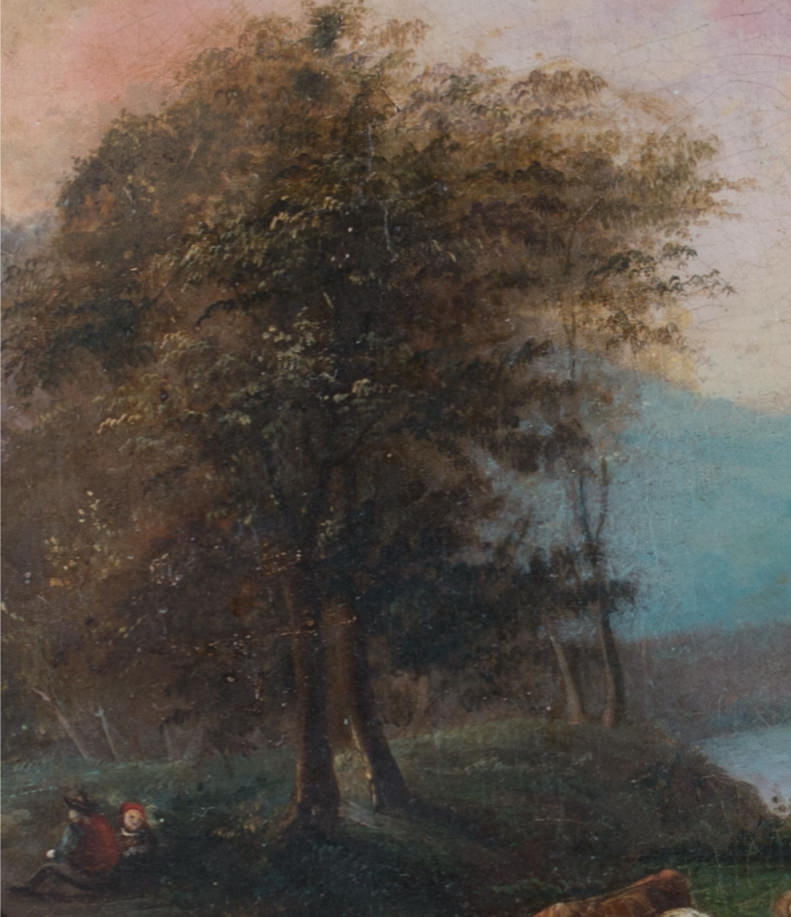 18th/19th Century Continental Landscape with Figures