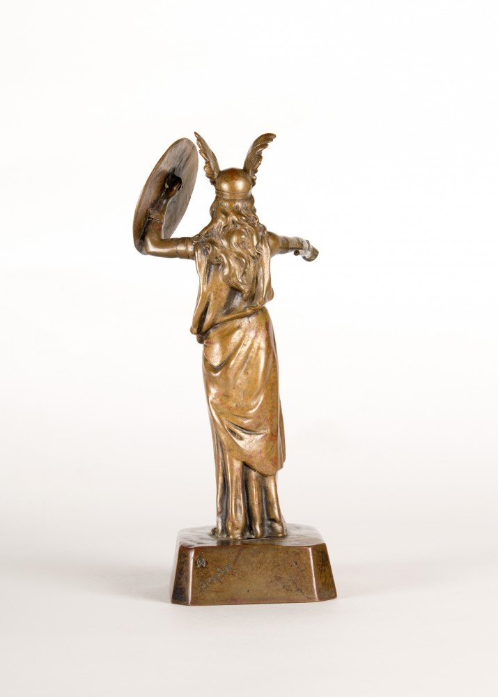 Figurative Bronze Sculpture: