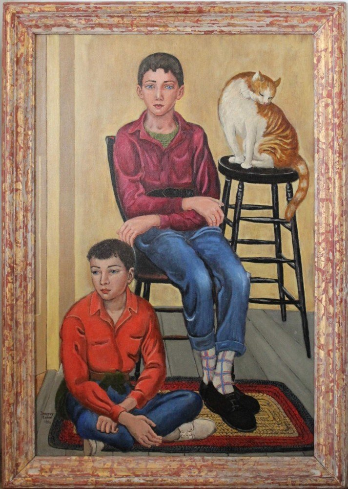 Two Boys and A Cat by Dorothy Eaton