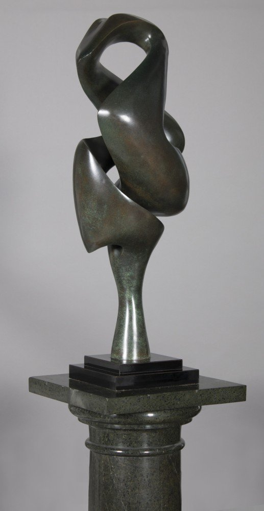 Abstract Sculpture by Hans Schleeh