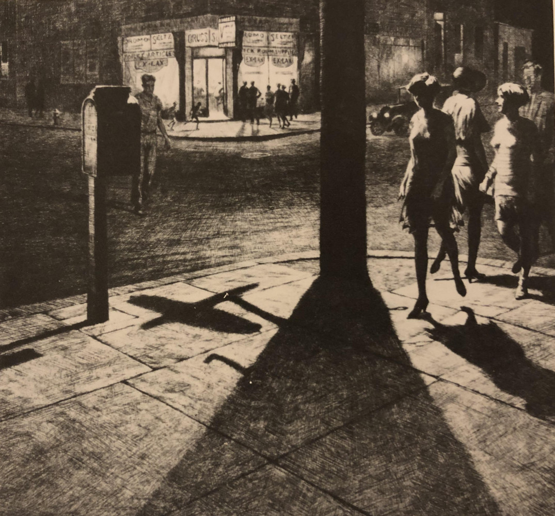 Corner Shadows by Martin Lewis