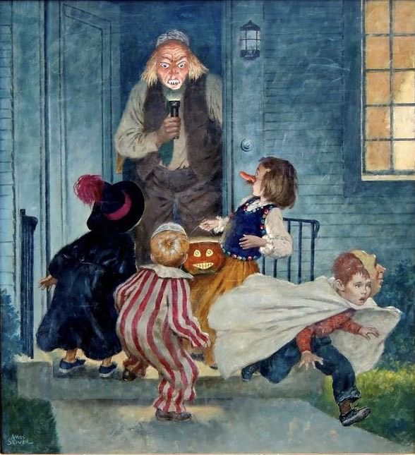 Halloween by Amos Sewell