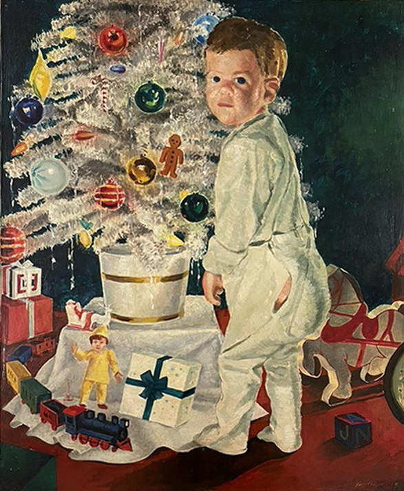 Christmas Morning by William A. Van Duzer