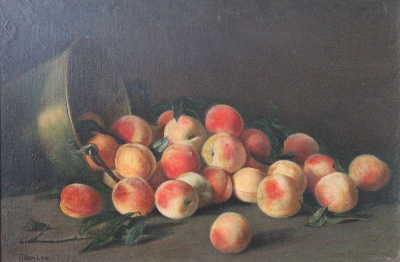 Still Life, Peaches by Adam Lehr