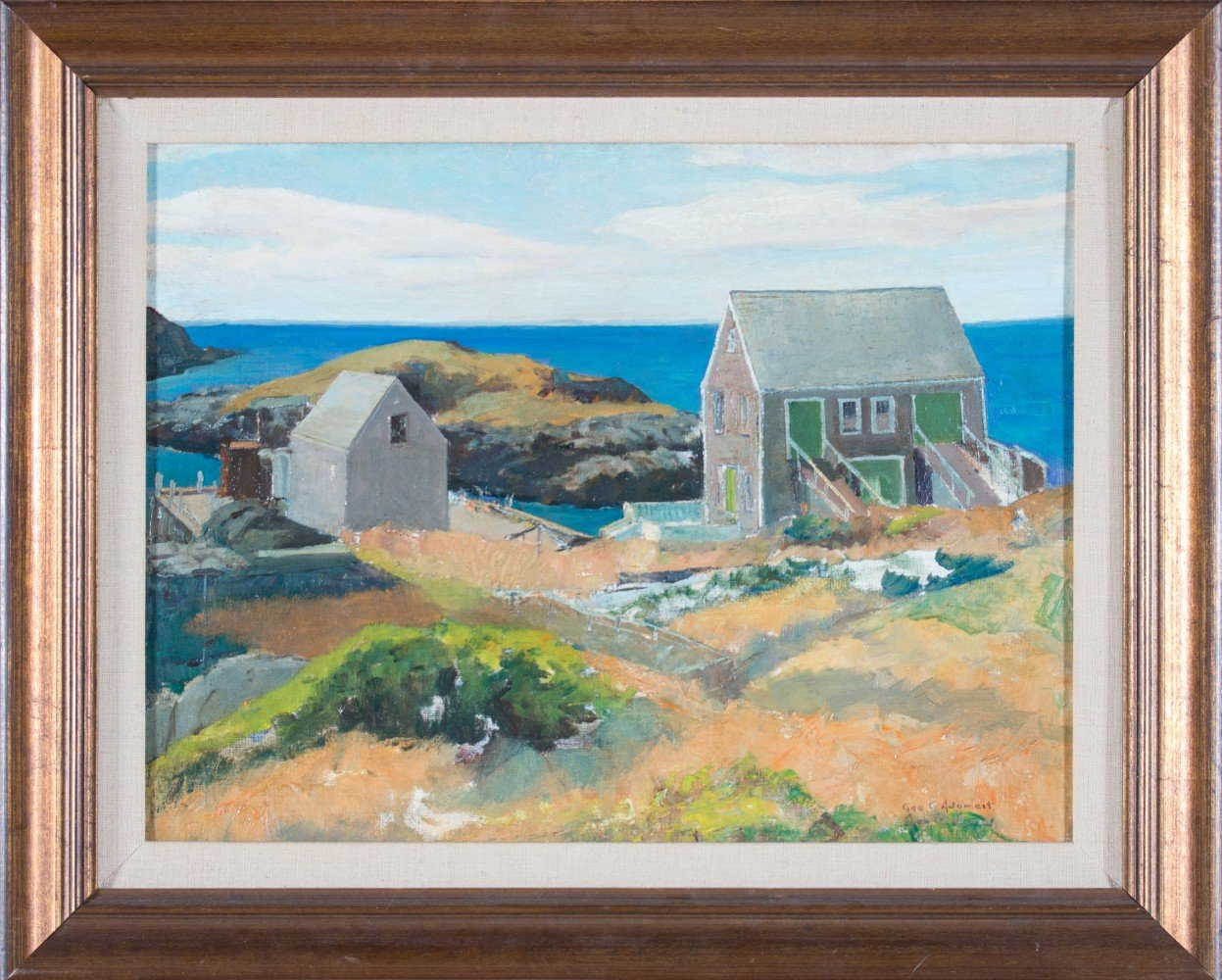 Monhegan Island, Maine by George Gustav Adomeit