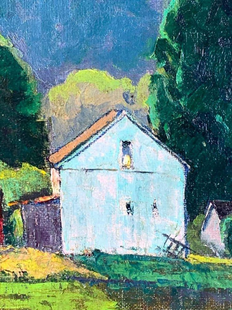 Rural Farm by George Gustav Adomeit