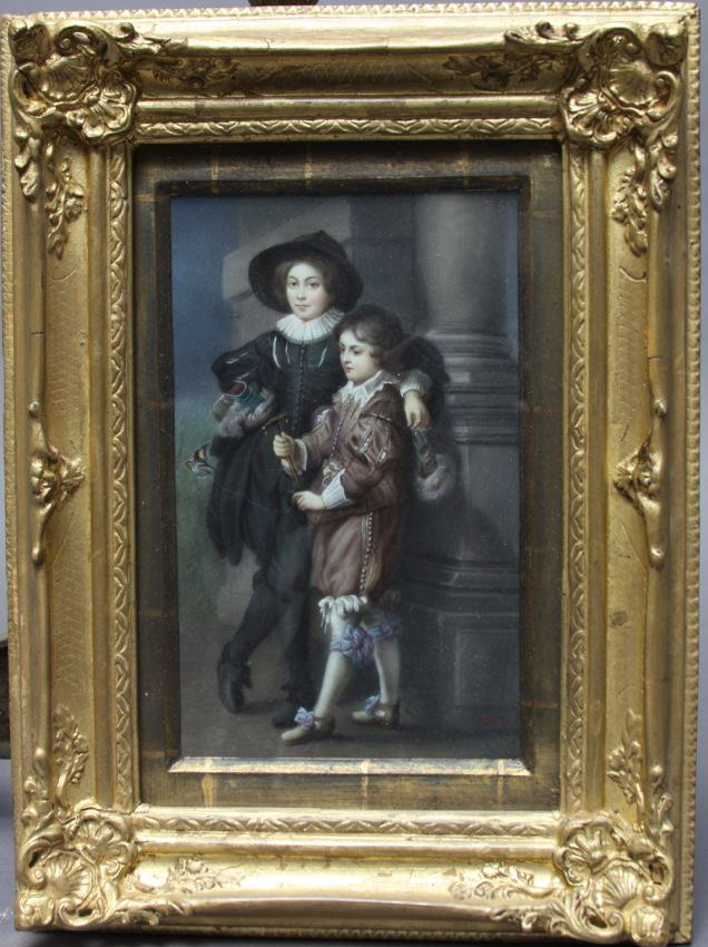 Portrait of the artist's sons, Albert and Nikolaus by After Sir Peter Paul Rubens