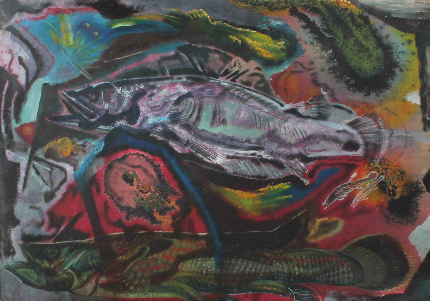 Ancient Fish by Paul Bough Travis