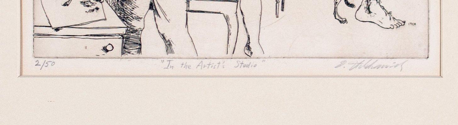 In the Artist Studio