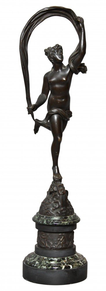 Aura, Bronze Figure of the Breeze