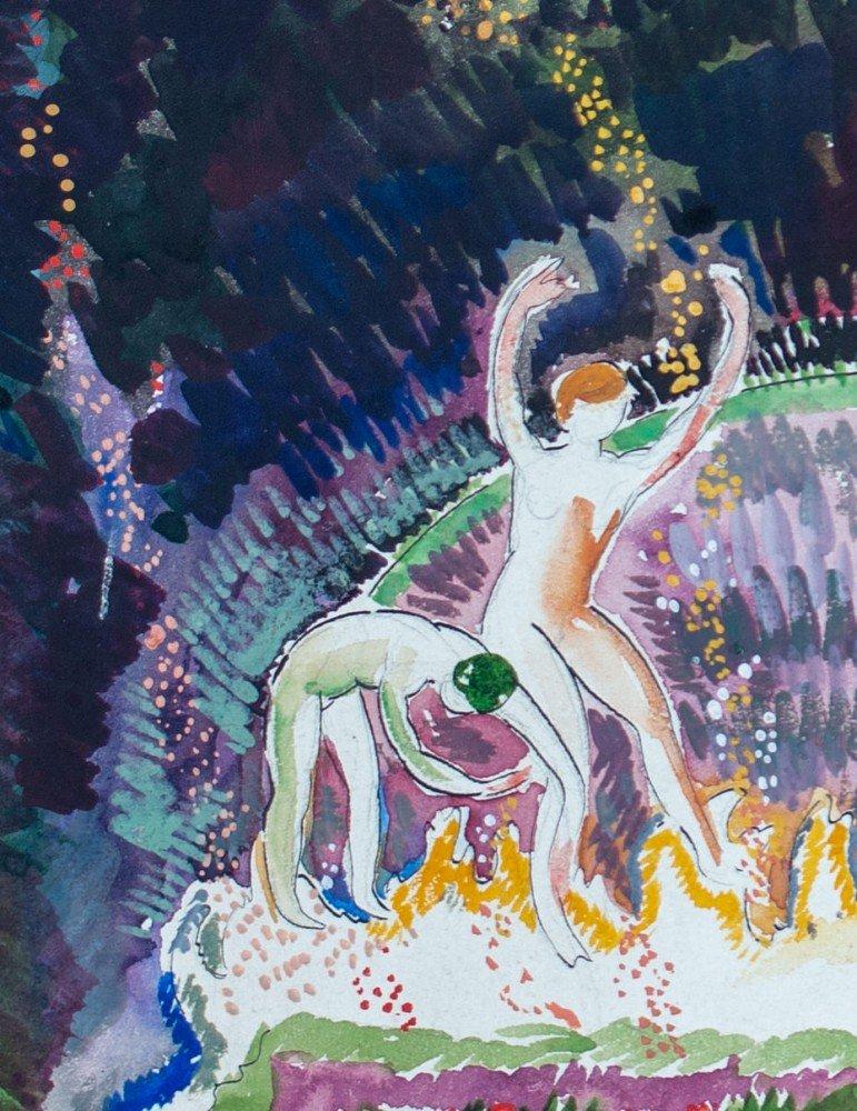 Dancers by August Biehle