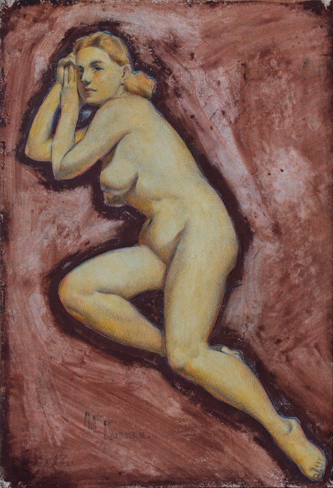 Nude by August Biehle