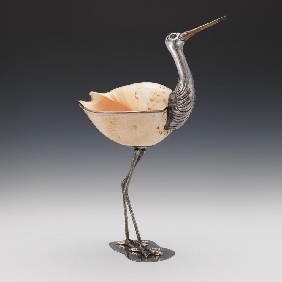 Bird Sculpture by Gabriella Binazzi