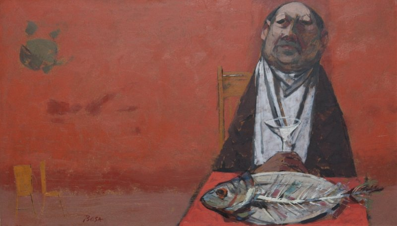 Fish and a Martini by Louis Bosa