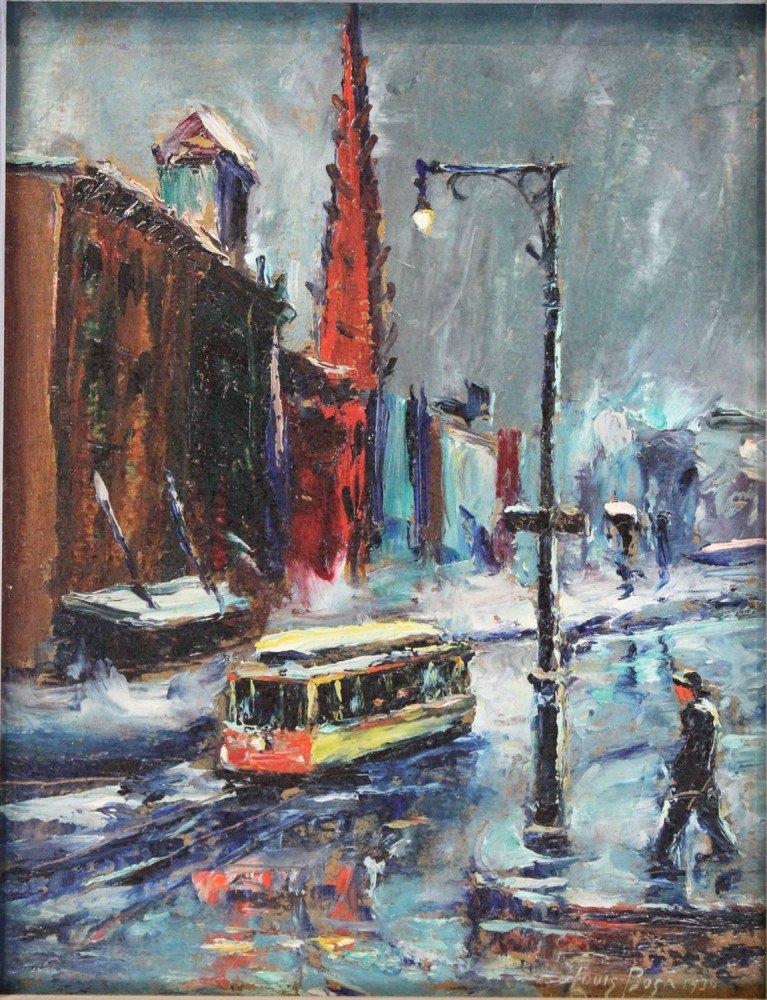 New York City Street Scenes by Louis Bosa