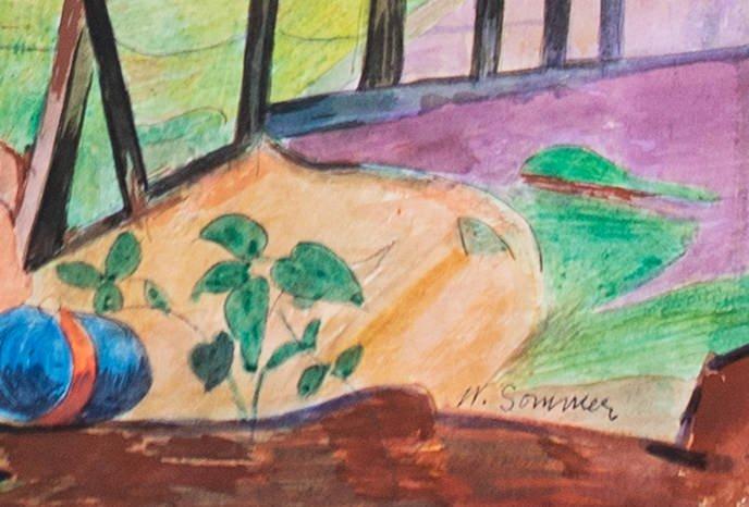 Brandywine Landscape by William Sommer