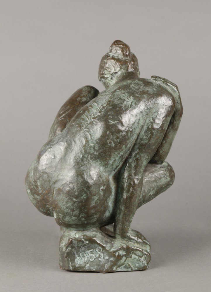 Seated Nude Dancer by 20th Century School