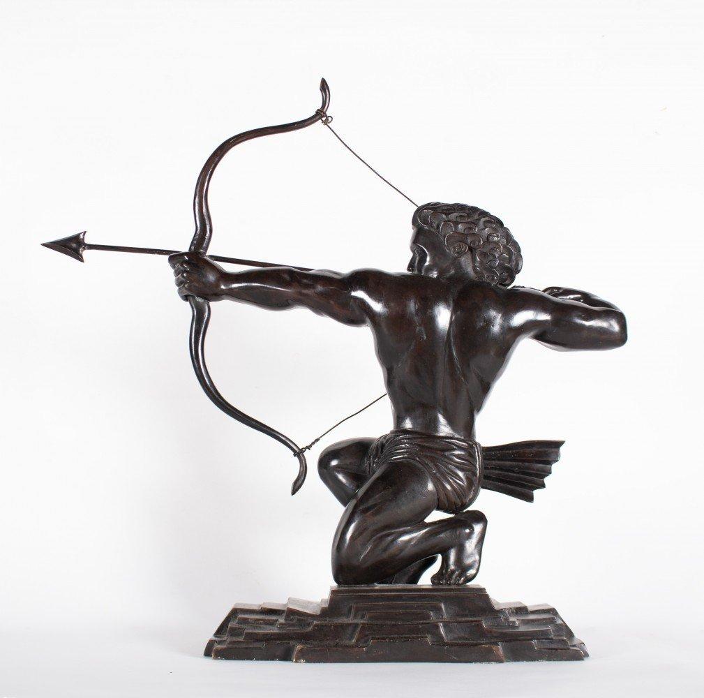 Figurative Bronze Sculpture: