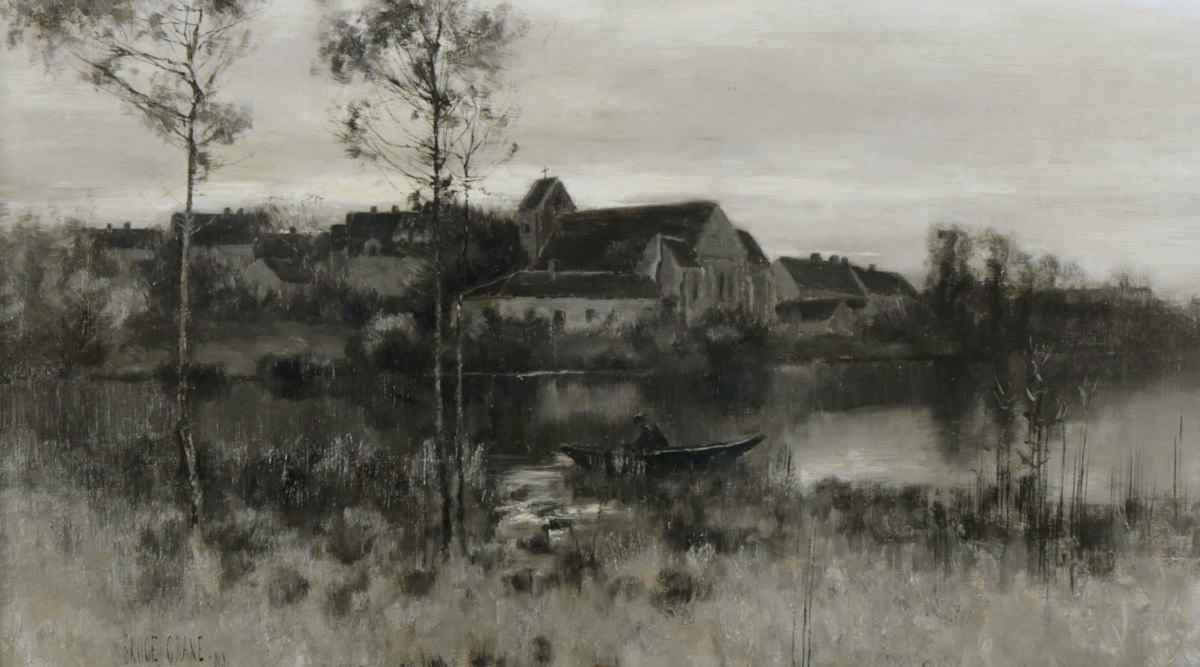Landscape, Crepuscule by Bruce Crane