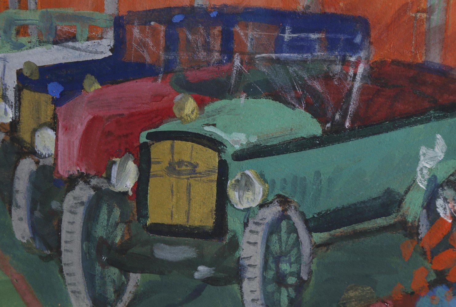 Car Dealership by 20th Century American School