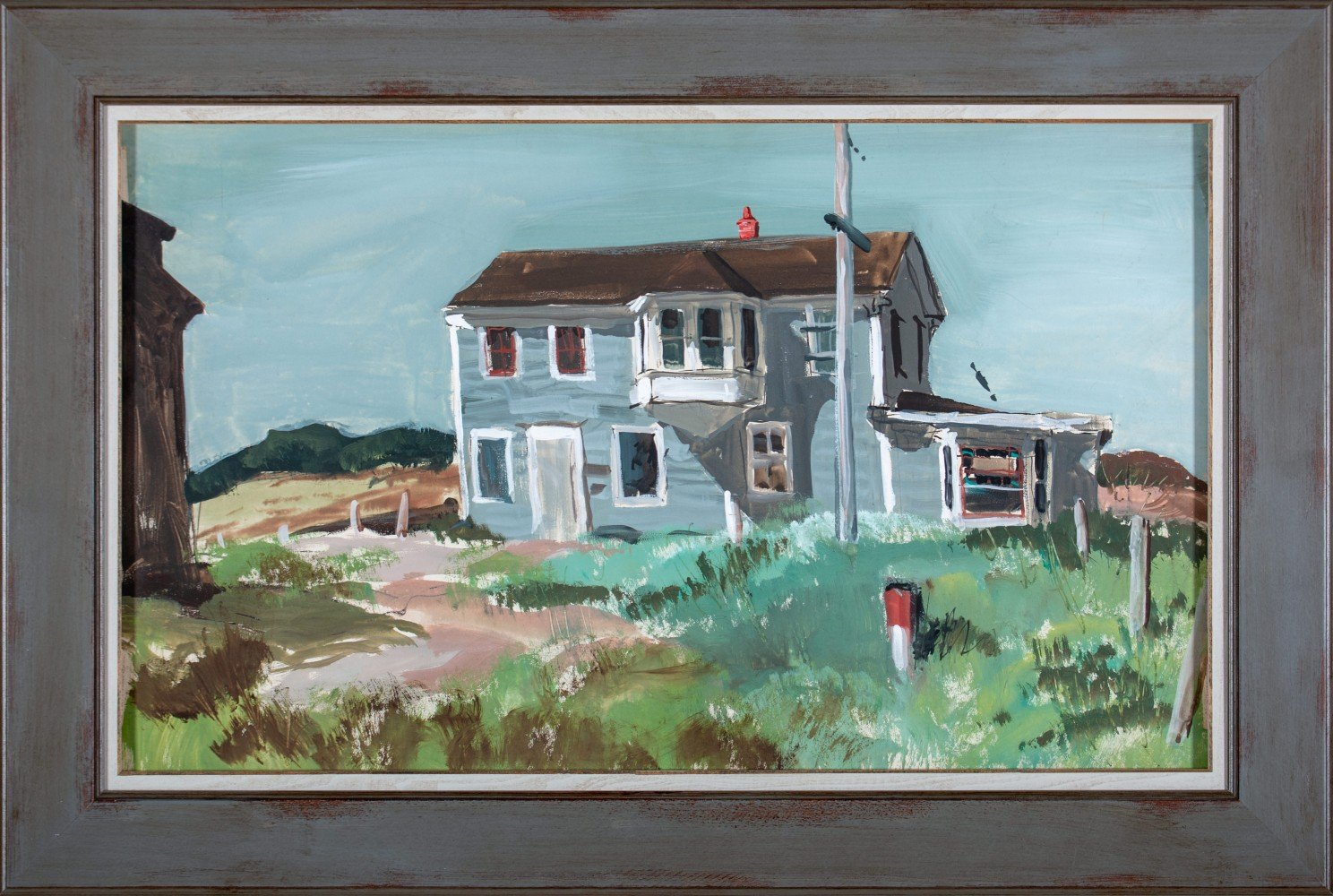 Gray House, Cape Cod by Carl Frederick Gaertner