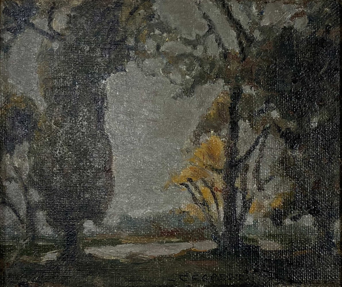 Landscape by Carl Frederick Gaertner