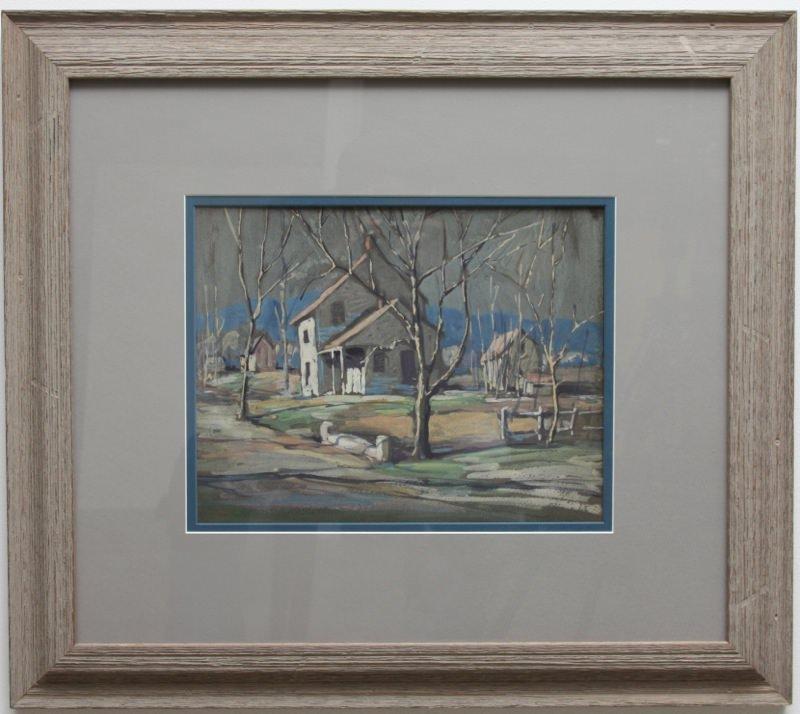 Rural Landscape by Carl Frederick Gaertner