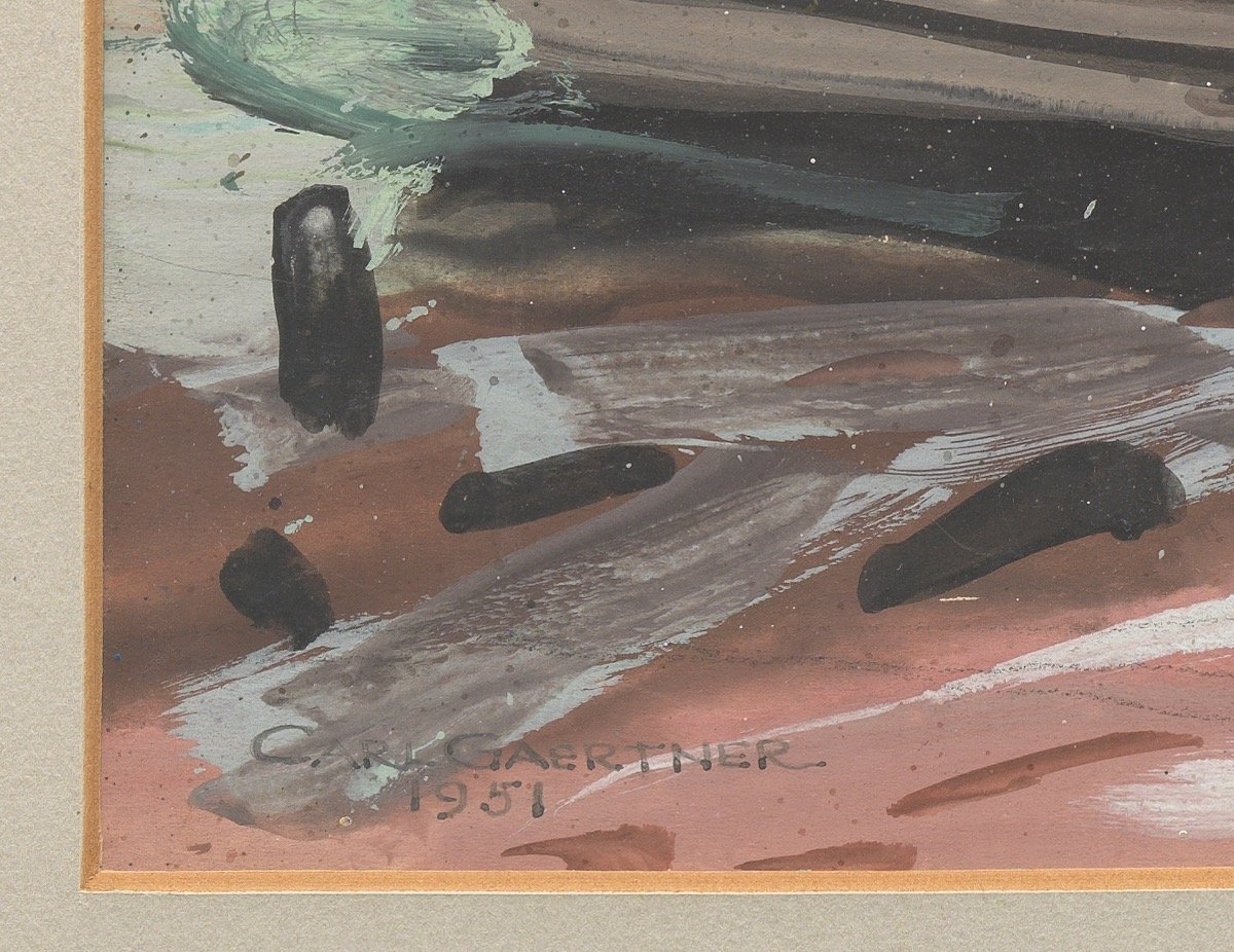 Atwood's Cove by Carl Frederick Gaertner