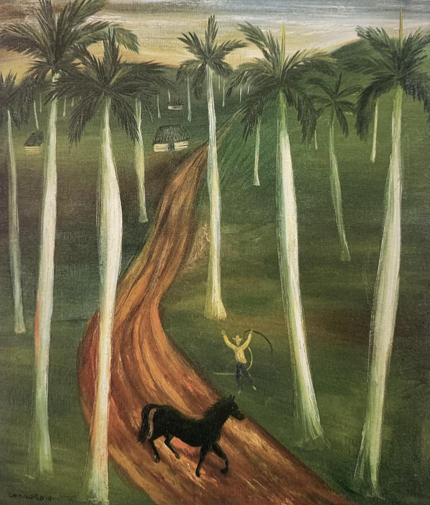 The Runaway on the Plantation by Mario Carreño