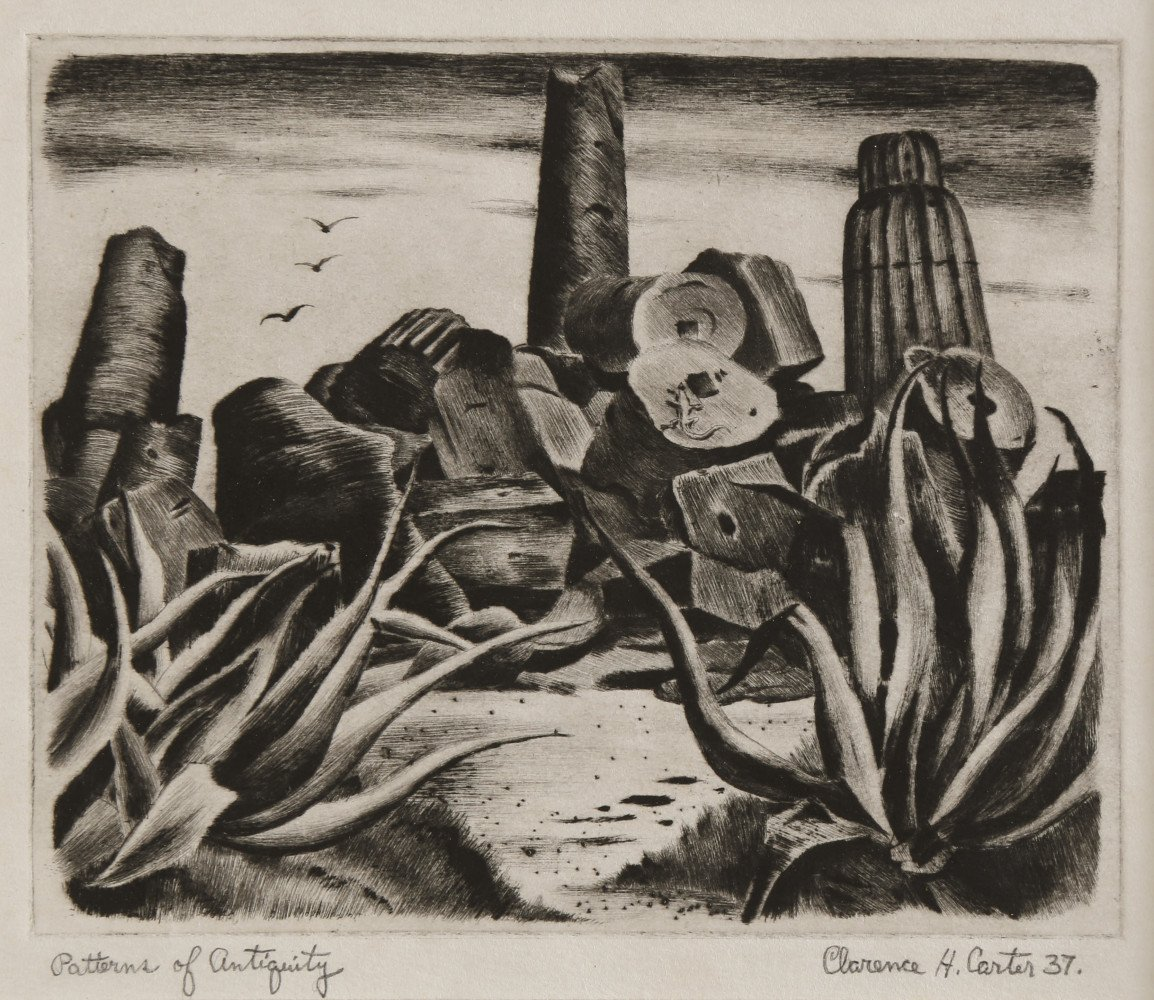 Landscape Etching and Drypoint Drawing: