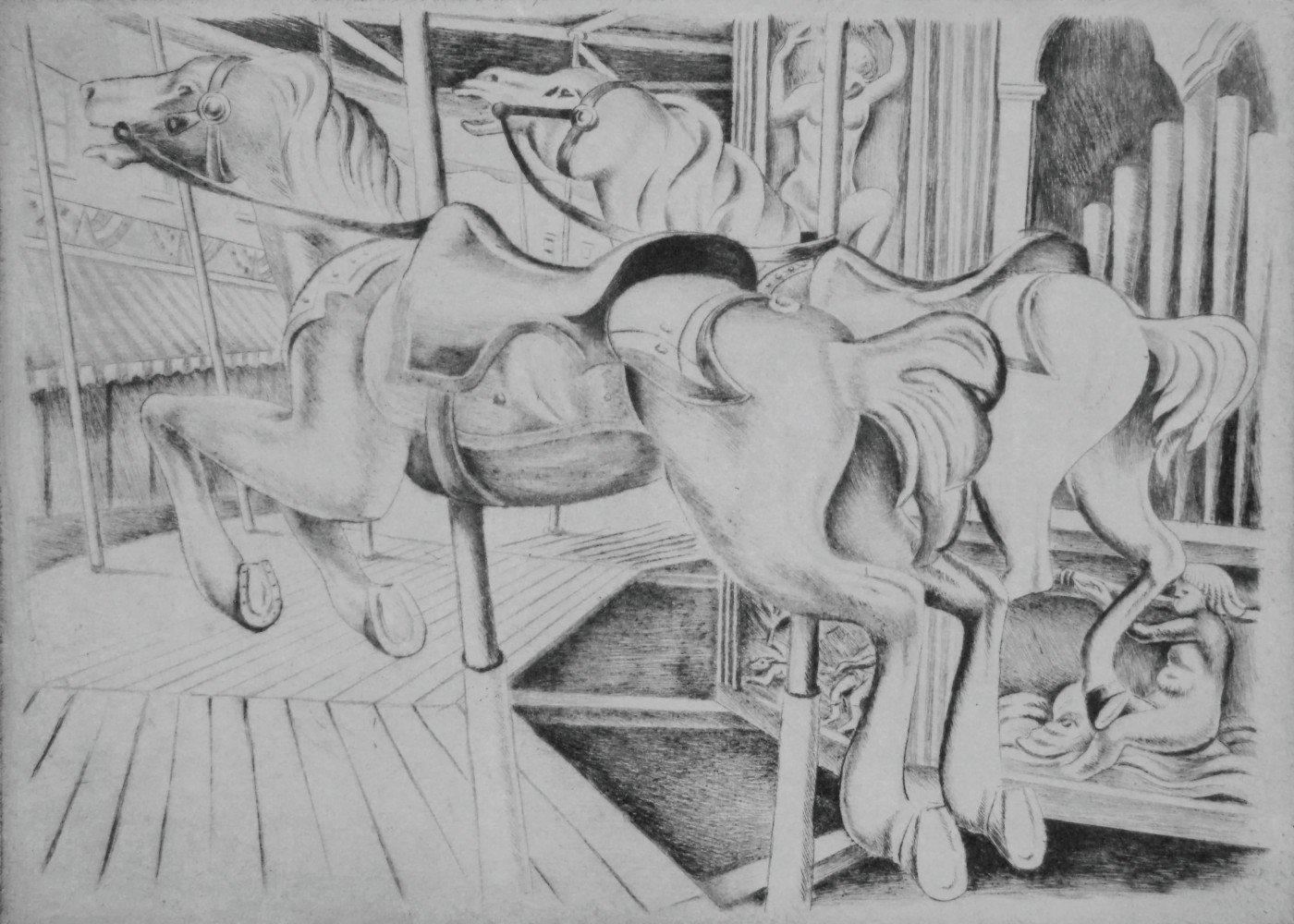 Animal Etching Art Piece:
