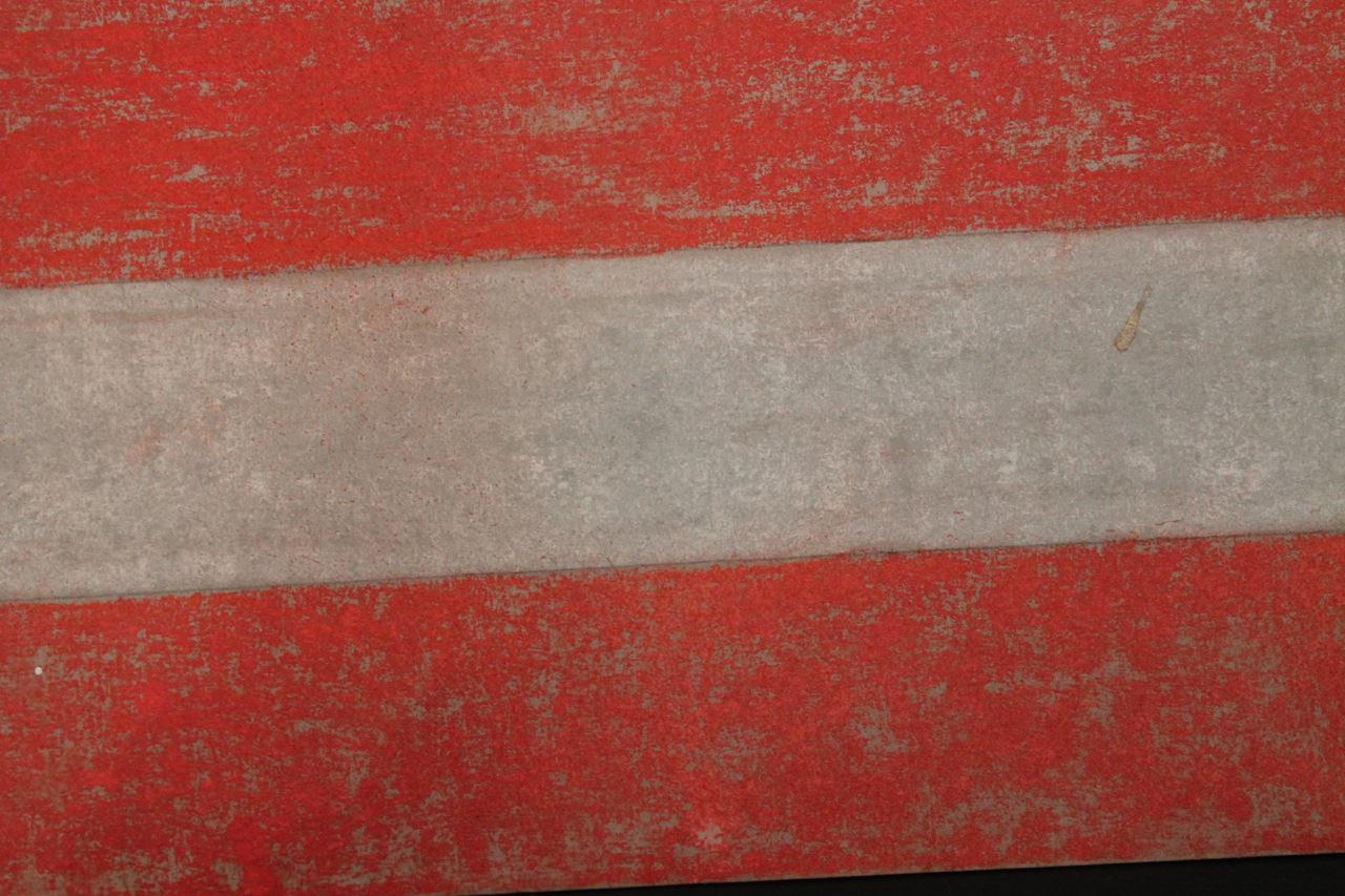 Gouache on Cardboard Painting: