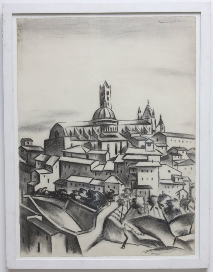 Siena  by Clarence Holbrook Carter