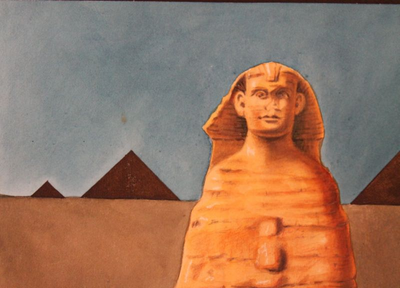 Sphinx by Clarence Holbrook Carter