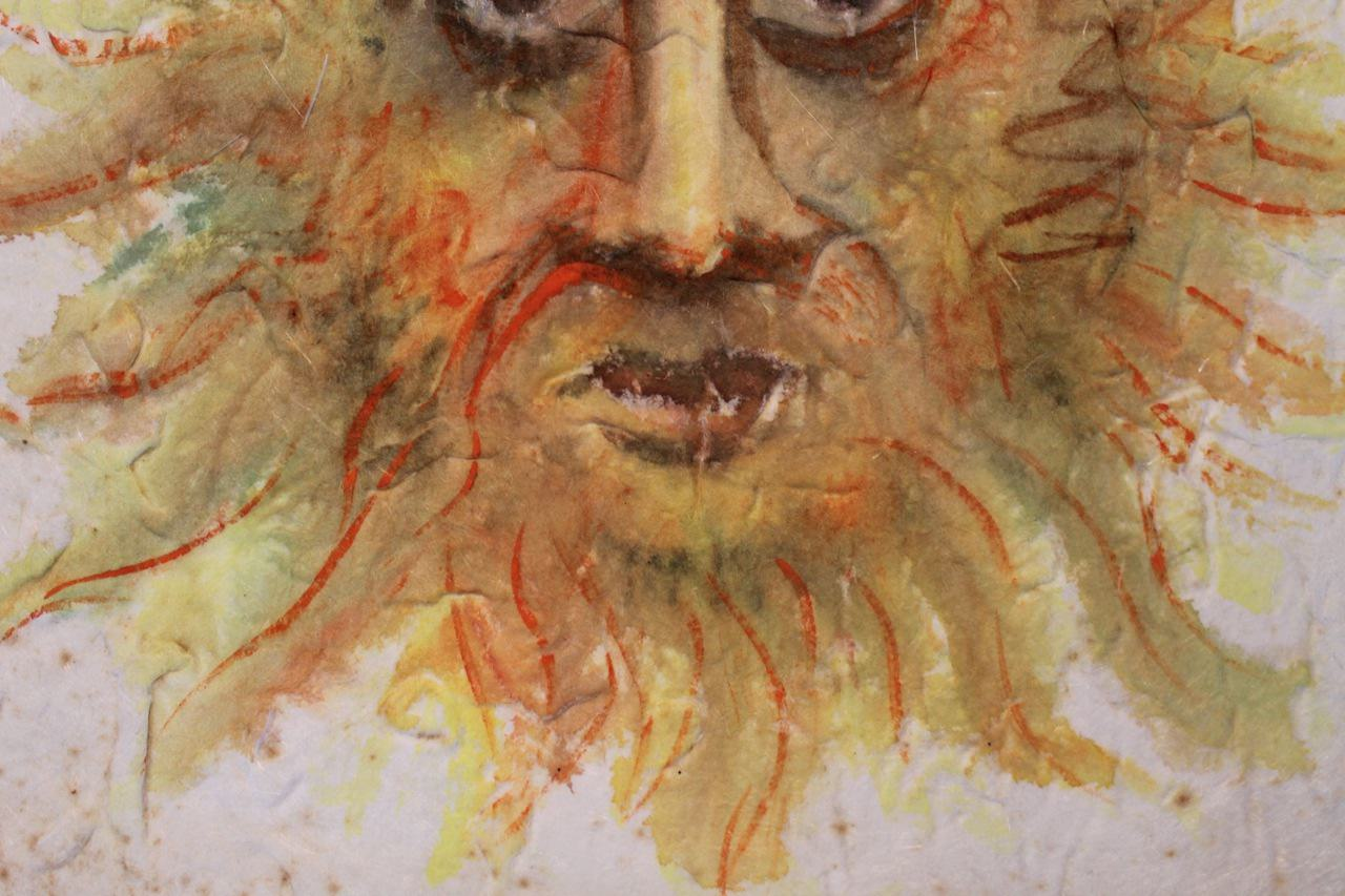 Watercolor on Paper Painting: